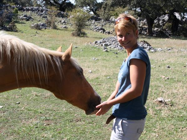 Learn Spanish and go horseback riding in Granada, Spain