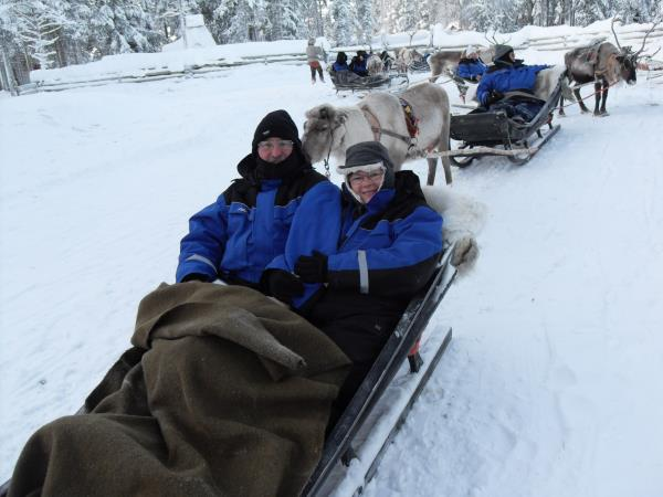Finnish Lapland holiday, Luosto activity week