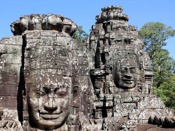 Cambodia country tour, temples & sea