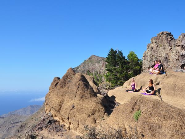 Canary Islands holistic holiday, including yoga