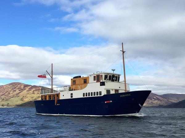 Scotland short break cruise, private charter