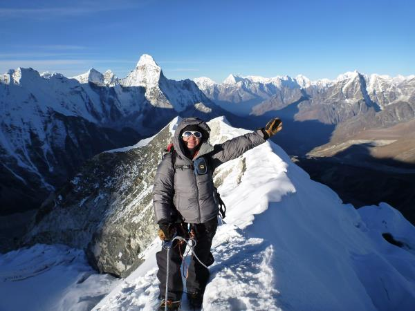 Everest Base Camp & Island Peak trekking holiday, Nepal