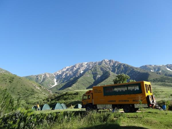 Silk Road overland tour, London to Bishkek