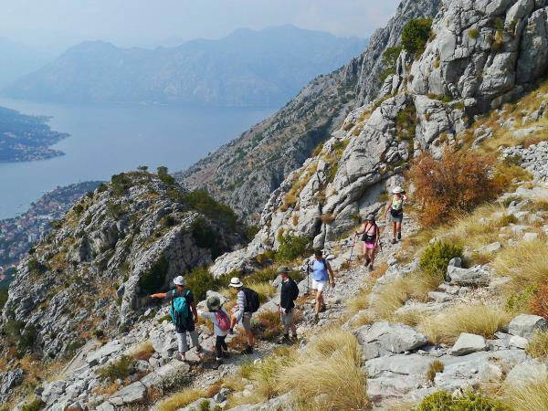 Montenegro walking holiday