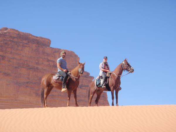 Jordan horse riding holiday, Petra to Wadi Rum