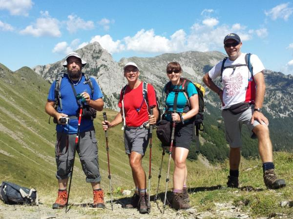 Montenegro hiking holiday, mountain expedition
