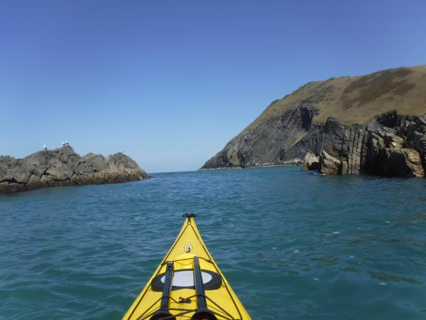 Sea kayaking holiday in Wales