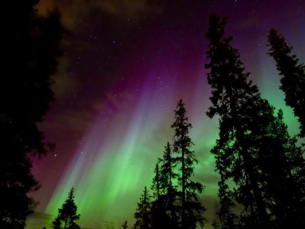 Finnish Lapland  Autumn Northern Lights holiday