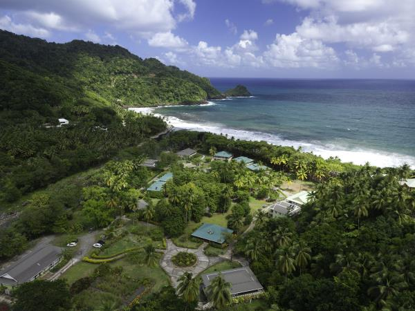 Dominica luxury accommodation, Rosalie Bay