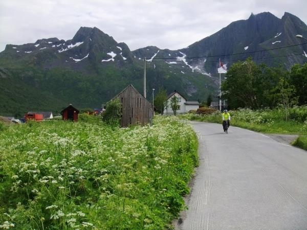 Norway self guided cycling, Senja