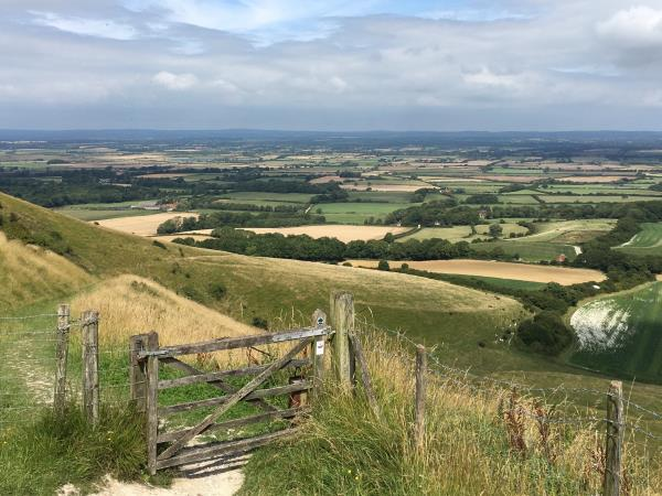 South Downs walking holidays, England