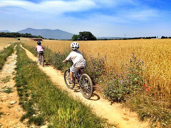 Catalonia Family Mountain Biking Activity Holiday Spain
