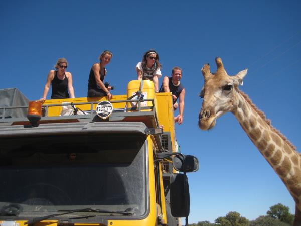 Overland tour from Vic Falls to Cape Town
