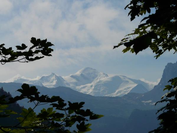 Family activity holiday in the French Alps