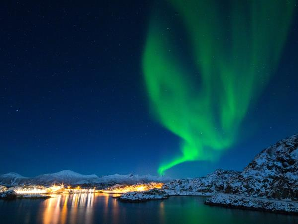 Norway Northern Lights holiday, Senja Island