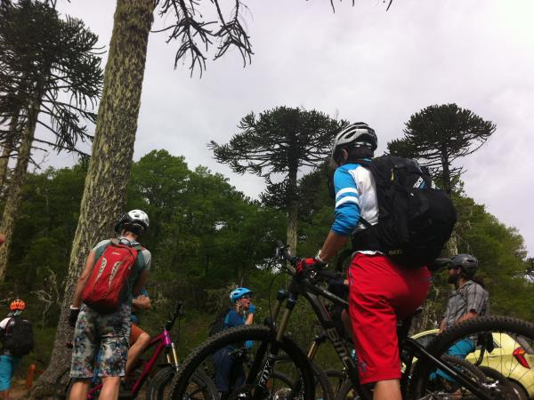 Chile mountain biking tour