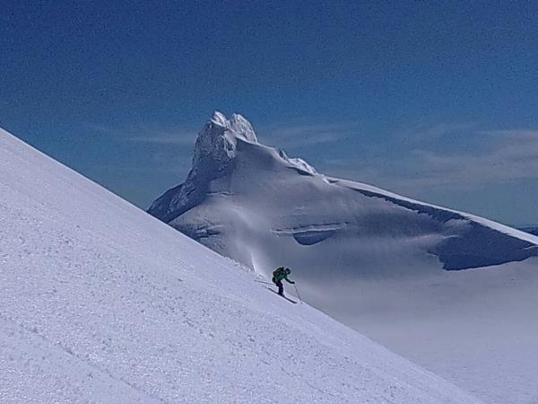 Ski touring holiday in Chile