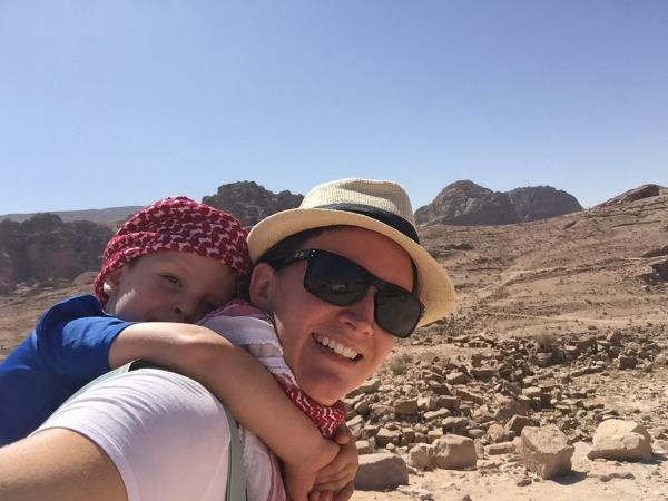 Family holiday to Jordan