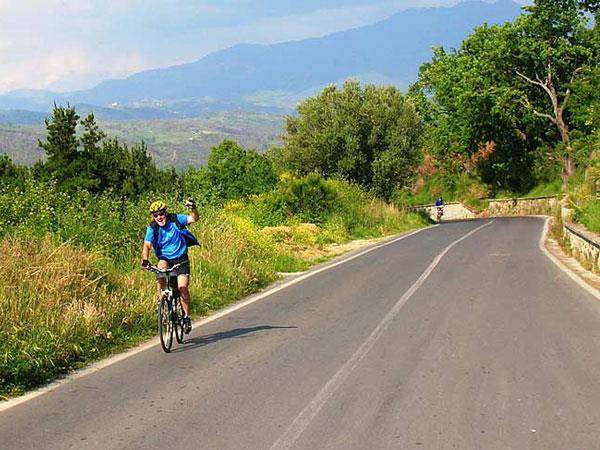 Cycling holiday across Italy, Puglia to Sorrento
