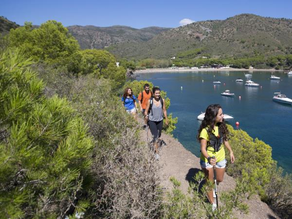 Catalonia family walking holiday