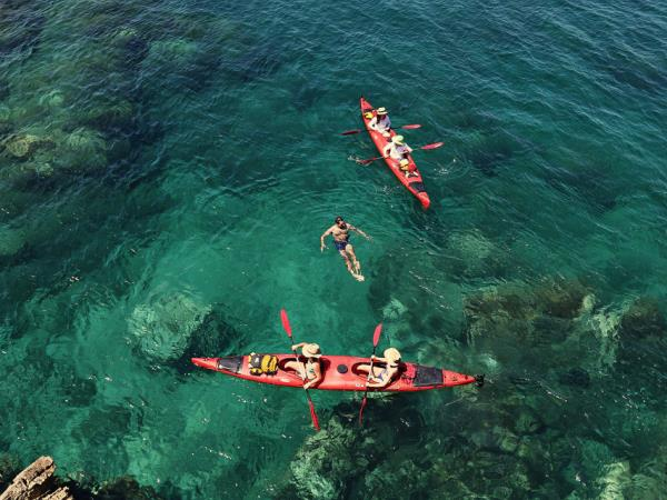 Kayak or SUP holiday in Croatia