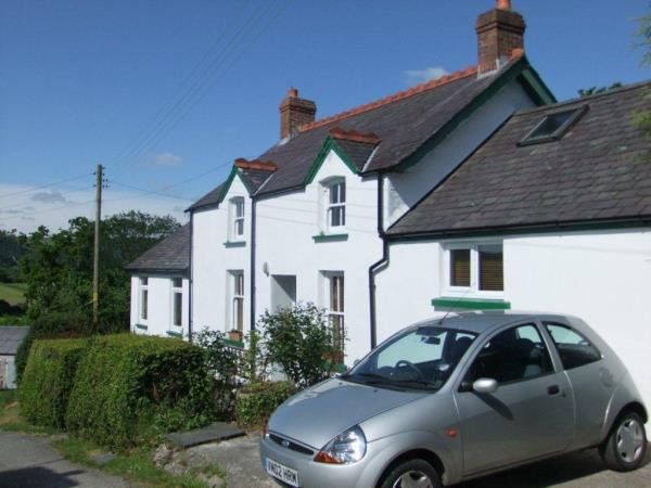 Vegetarian bed & breakfast in West Wales
