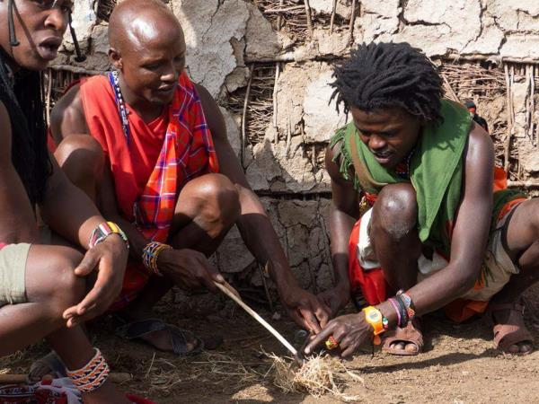 Kenya safari with the Maasai tribes
