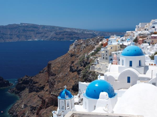 Greek Island tour, cruise on the Aegean Sea