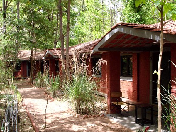 Kanha Tiger Reserve lodge, India