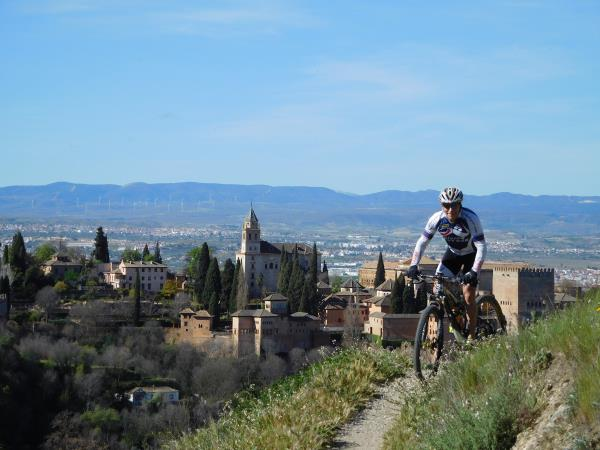 Learn Spanish and mountain bike in Sierra Nevada, Spain