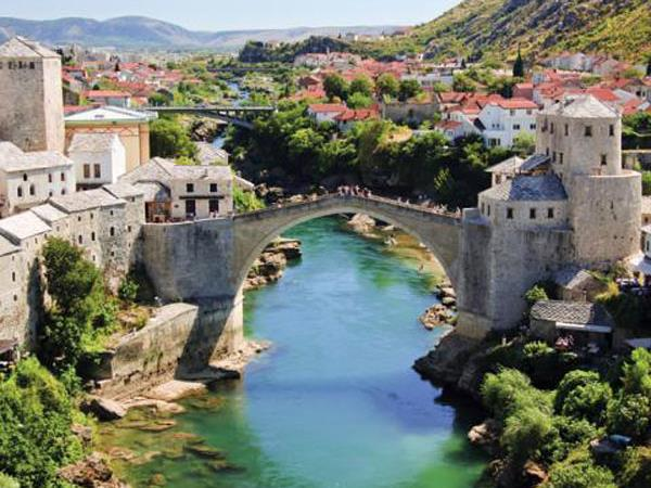 Balkan adventure holiday, 15 days