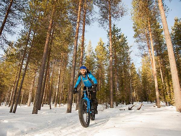 Fat biking holiday in Finland
