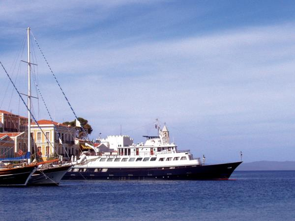 Small ship cruising holidays in Greece  Tours & holidays in