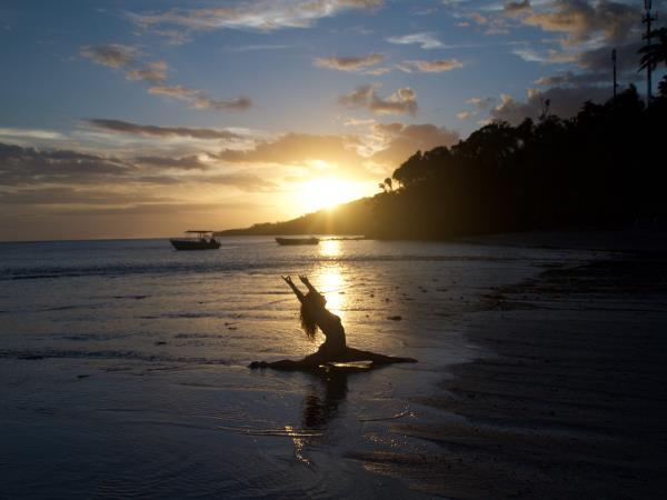 Fiji yoga retreat holiday
