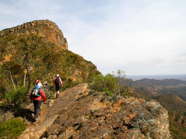 Flinders Ranges walking holiday in South Australia