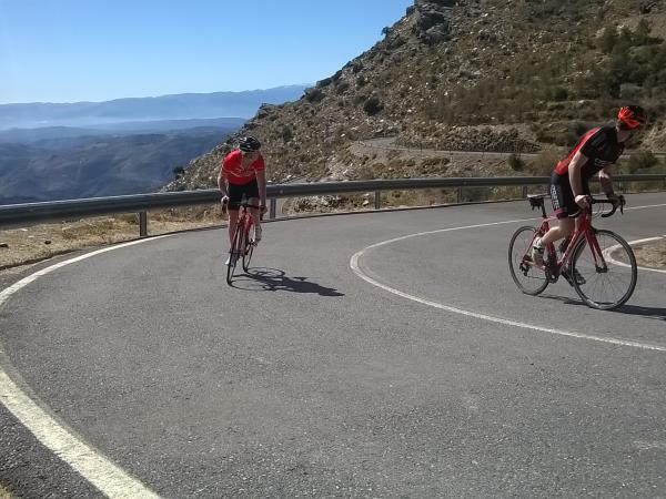 Challenging road cycling holiday in Spain