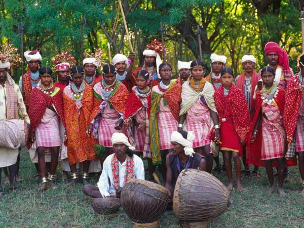 Chhattisgarh to Orissa tour in India, tribes and villages