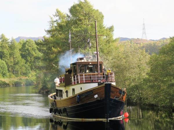 Caledonian Canal cruise in Scotland, via Loch Ness