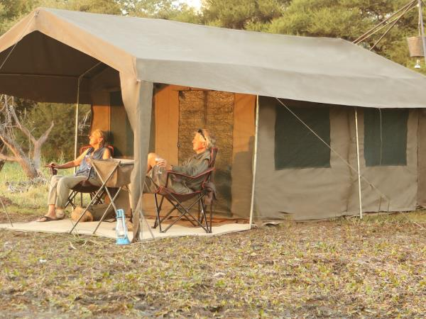 Botswana mobile camping safari