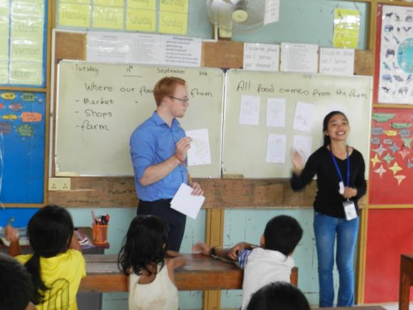 Community volunteering in Siem Reap, Cambodia
