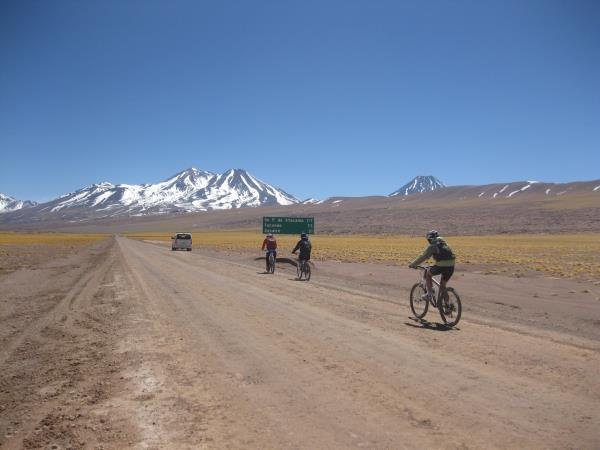 Cycling holiday in Chile