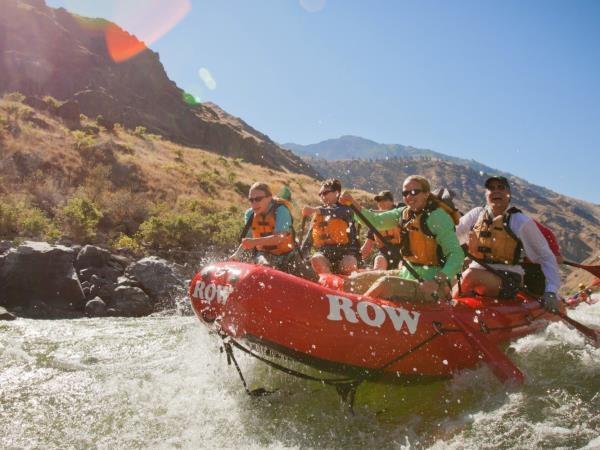 Snake River rafting holiday in Hells Canyon, North America