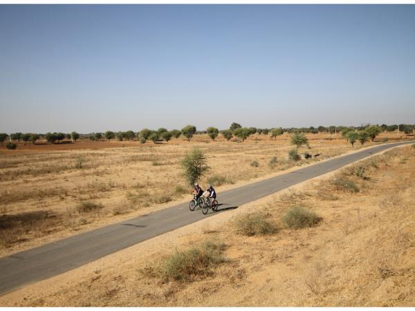 Rajasthan cycling tour in India
