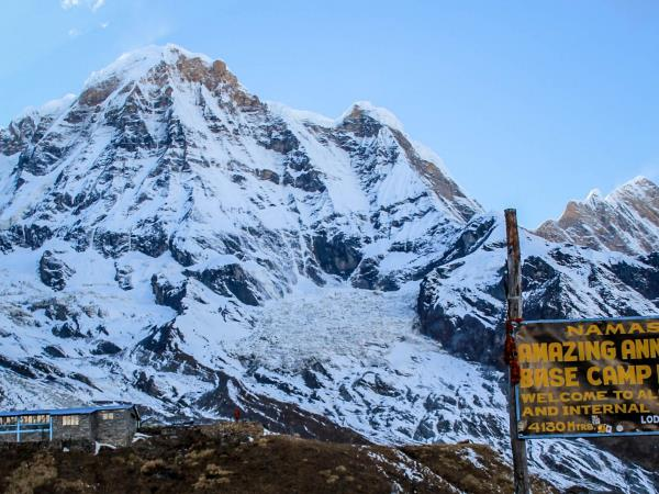Annapurna Sanctuary trek in Nepal