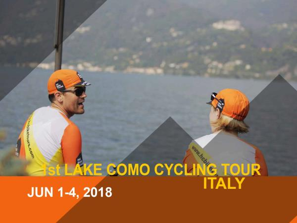Lake Como cycling tour