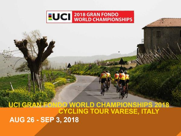Gran Fondo World Championships 2018 Varese bike tour