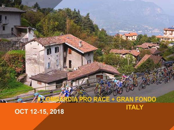 Il Lombardia race & Gran Fondo cycling tour