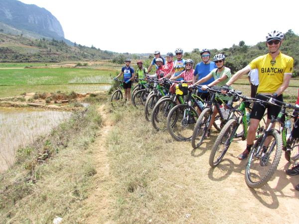 Madagascar cycling holidays