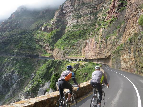 South Africa cycling holiday