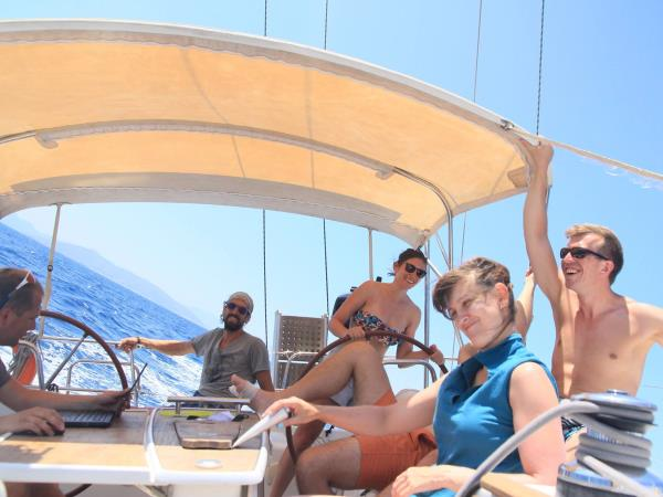 Greece sailing holiday, Saronic coast